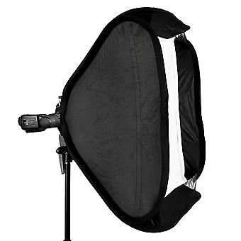 "80 * 80Cm / 31"" flash softbox diffuser with s-type bracket bowens holder for speedlite light"