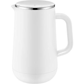 HanFei Impulse Thermoskanne 1l, Isolierkanne für Tee oder Kaffee, Drehverschluss, hält Getränke 24h