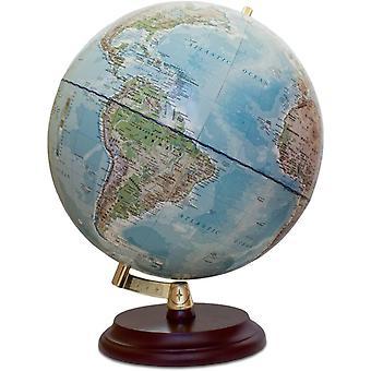 FengChun Magellan Vasa Globus mit politischem Kartenbild oder handkaschiert, freistehend ohne