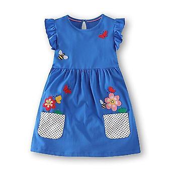 Vestidos de bordado de verano para niñas