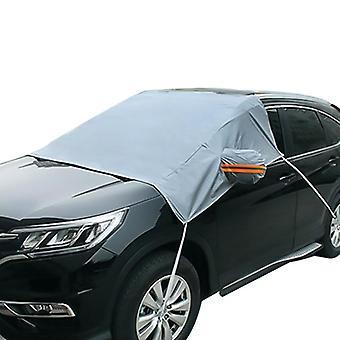 Auto voertuig SUV raamscherm zon schaduw regen sneeuwbescherming cover (2,1 * 2,4 * 1,4 m)