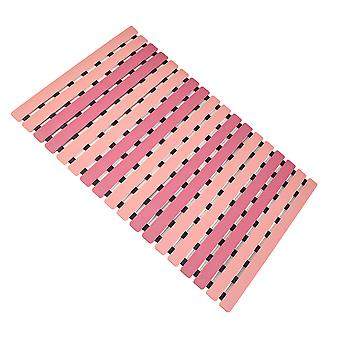 Quality Bathroom Anti-slip Mat Strong Suction Tpr+pp Dual Material Composite Mat