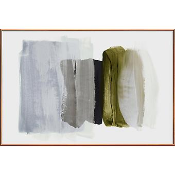 JUNIQE Print - Minimalism 12 - Abstract Landscapes Poster in Grey