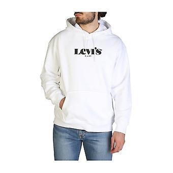 Levis - Clothing - Sweatshirts - 38479-0038-T2-RELAXD-GRAPHIC - Men - white,black - XL