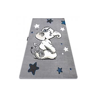 Rug PETIT ELEPHANT STARS grey
