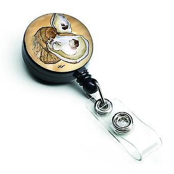 Caroline s Schätze Oyster versenkbare Abzeichen Reel, mehrfarbig (8160Br)