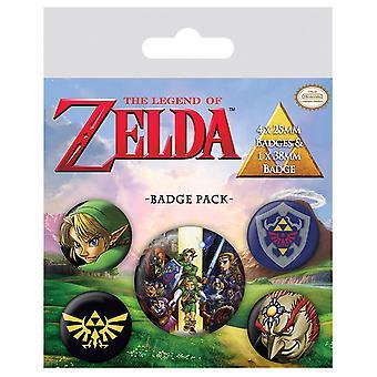 Zelda Badge Packin legenda