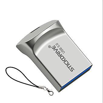 Wasserdicht Super Mini USB-Flash-Laufwerk 16GB Pen Drive Metall USB 3.0 Flash USB-Stick Pendrive für CLE
