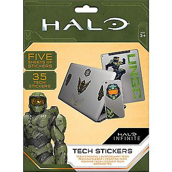 Halo Tech Stickers (Pack of 35)