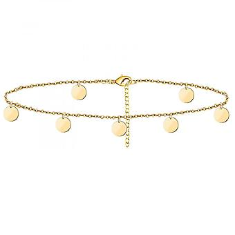 Adjustable Size Golden Beach  Anklet Jewelry Anklet For Women Beach Jewelry Gift