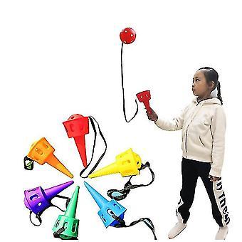 Echipamente de instruire pentru integrare senzorială, copii care aruncă și prind mingea, grădiniță