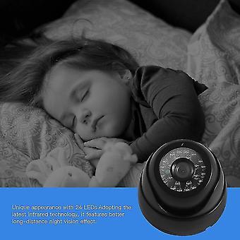 1/3'' 1200tvl Vision nocturne 3.6mm Objectif Hd Caméra de surveillance avec 24 lumières LED