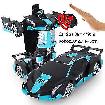 38 cm rc auto 2,4 ghz inductie transformatie robot 1:12 vervorming elektrisch op afstand bestuurbaar