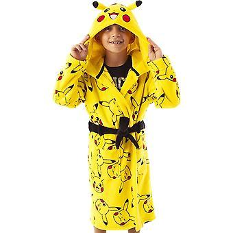 Pokemon Bambini / Bambini Pikachu Facce Vestaglia