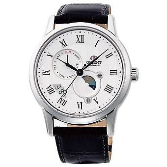 ORIENT Classic Sun and Moon RA-AK0008S10B - Leather Male Mechanical 3 hands