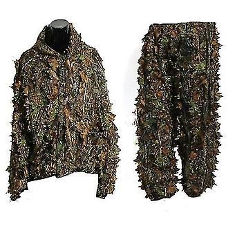 3d Leaf Ghillie oblek
