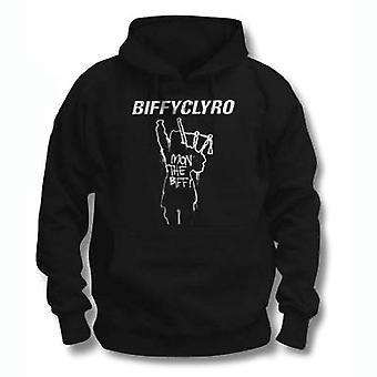 Biffy clyro unisex pullover hoodie: mon biff