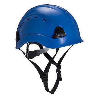 Portwest Pánske Výška Vytrvalosť Horolezec Helma Royal Blue One Size Modrá