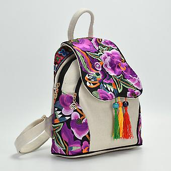 Yunnan Fashionable National Style Ebroidery Bag Stylish Featured Shoulders Bag Fashionable Bag