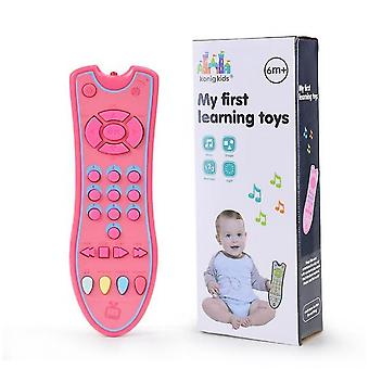 Lasten musikaali-TV Kaukosäädin lelu valolla ja äänellä