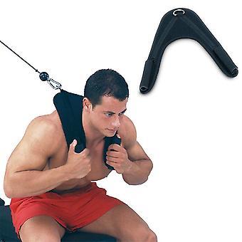 Fitness Abdominal Crunch Straps Ab Übung Ziehen Gurt Schultergurt Gürtel Nylon Home Langhantel Gym Ausrüstung Zubehör
