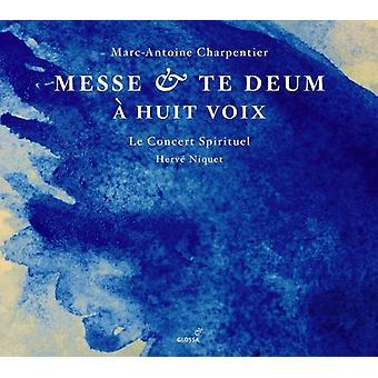 Le Concert Spirituel - Charpentier: Messe; Te Deum [SACD] USA import