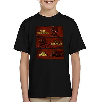 The Infected The Walking And The Biting Dead Kid's T-Shirt