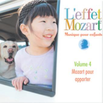 L'Effet Mozart Musique Pour Enfants - L'Effet Mozart: Musique Pour Enfants, Vol. 4 [CD] USA Import