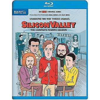 Silicon Valley: Fjärde säsong [Blu-ray] USA import