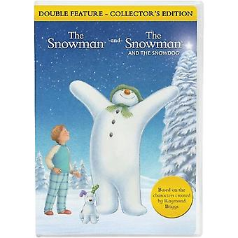 Snowman/Snowdog Double Feature [DVD] USA import