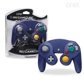 Nintendo Wii / GameCube проводной контроллер (фиолетовый) - CirKa