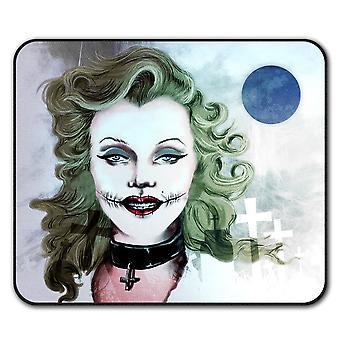 Frau Kunst bekannte Anti-Rutsch Mauspad Pad 24 x 20 cm | Wellcoda