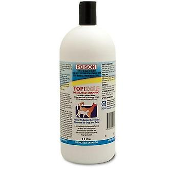 Topizole lääkerehua Shampoo 1Lt