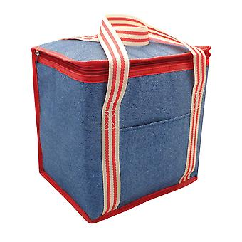 Country Club 12L Cooler Bag, Denim Stripe