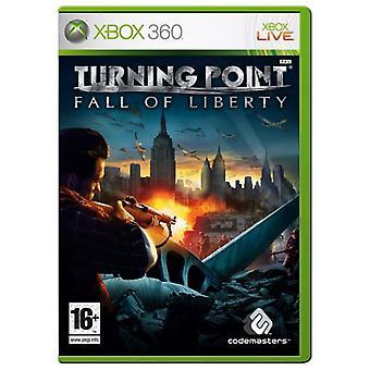 Vändpunkt fall of Liberty (Xbox 360)-ny