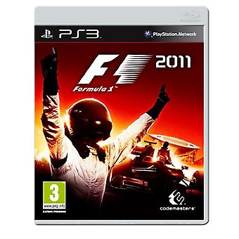 F1 2011 (PS3) - Factory Sealed