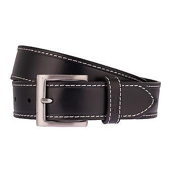 PICARD belts men's belts leather belt black 2536