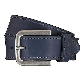 Ceintures d'atelier GARDEUR ceintures hommes cuir ceinture bleue 5870