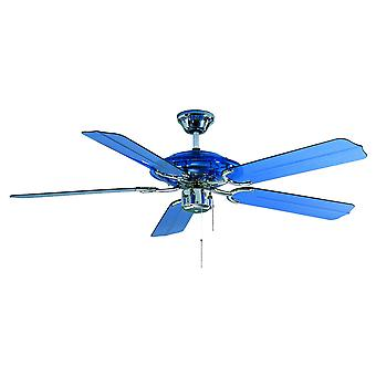 Ceiling fan Blue Angel with pull cord 132cm / 52