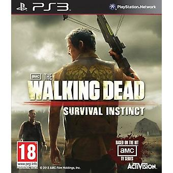 The Walking Dead Survival Instinct PS3 Game