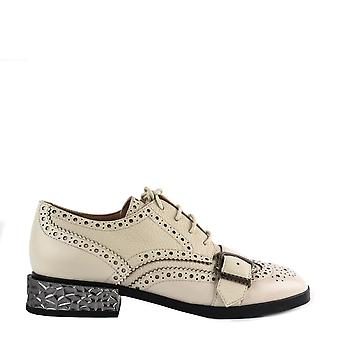 Ash Footwear Freak White Leather Brogues
