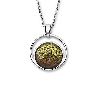 Sterling Silver Traditional Scottish Zodiac Virgo Hand Crafted Necklace Pendant Savanna