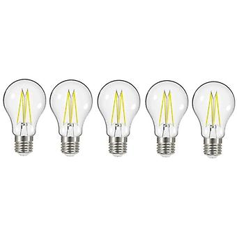 5 X Energizer 7.2W = 60W filamento LED GLS luz bombilla lámpara Vintage ES E27 Edison clara tornillo [energía clase A +]