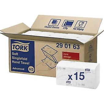 TORK 290163 Zickzack Advanced Paper towels (L x W) 23 cm x 25 cm White 15 x 250 sheets/pack 3750 pc(s)