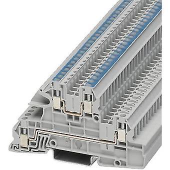 Phoenix Contact UTI 2,5/Lauren 3076035 teollisuuden Riviliitäntä nastojen määrä: 4 0,2 mm² 4 mm² harmaa 1 PCs()