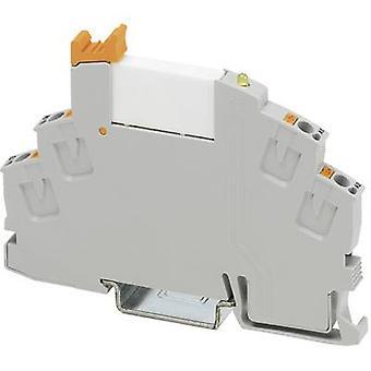 Phoenix contact RIF-0-RPT-24DC/1 Relais component nominale spanning: 24 V DC Schakelstroom (max.): 6 A 1 Maker 1 PC (s)