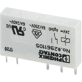 Phoenix Contato REL-MR- 24DC/21AU PCB revezamento 24 V DC 6 A 1 change-over 1 pc (s)
