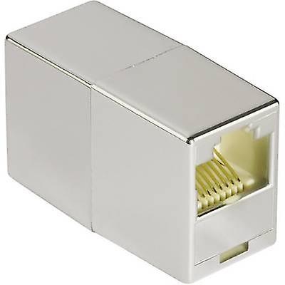 Hama RJ45 Networks Adapter CAT 5e [1x RJ45 socket - 1x RJ45 socket] 0 m Grey
