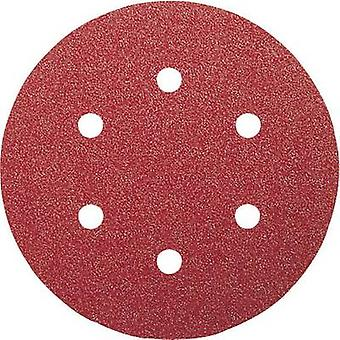 Bosch Accessories 2608605102 Router sandpaper set Hook-and-loop-backed, Punched Grit size 60, 120, 240 (Ø) 150 mm 1 Set