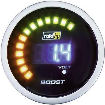 raid hp Turbo Pressure Gauge -1 to +3 bar 12V